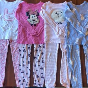 Gap Kids Toddler Girls Pajama Bundle